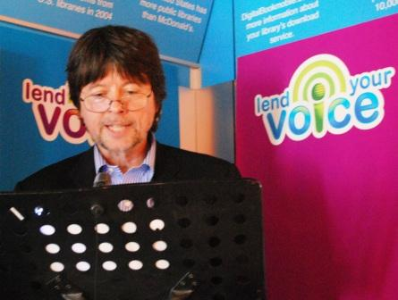 Ken Burns reads from The Wonderful Wizard of Oz as part of Random House Audio/OverDrive's community-sourced Lend Your Voice initiative.