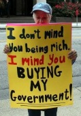 I Don't Mind You Being Rich, I Mind You Buying My Government