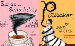 janeaustencovers 300x187 Audrey Niffenegger Covers Jane Austen
