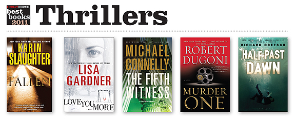 ljx111201webBBthriller1 Best Books 2011: Thrillers