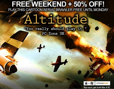 "A recent Steam promo for ""Altitude"""