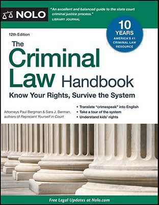 criminal law handbook Reference spotlights