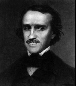 Edgar Allan Poe smiles - Library Journal