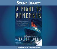 March1LordTitanic Titanic SOS: 100th Anniversary Audio Roundup