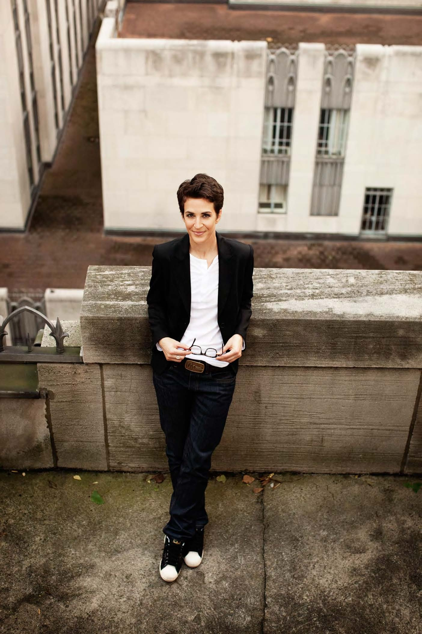 Rachel Maddow author photo - photo credit Bill Phelps