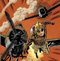 Rocketeer2001 Geeky Friday: Dave Stevens Reduxe, Burroughs Deluxe, Dark Shadows Sucks