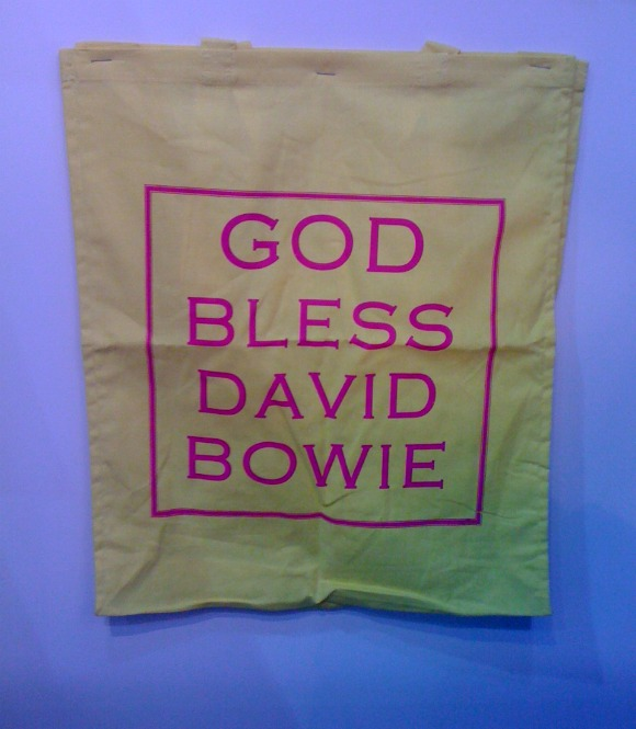 DavidBowieBagUse God Bless David Bowie, and Lets Still Save Publishing: A First Timers Adventures at the London Book Fair