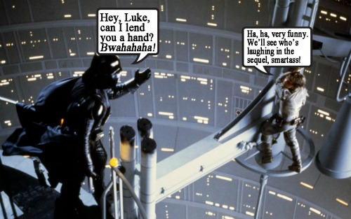 ESBVaderLukeCap500 Geeky Friday: Batman: Earth One, Potted Potter, Goodbye Carly, Empire Strikes Back Anniversary