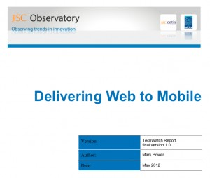 delivering web to mobile coverpage 300x254 Delivering Web to Mobile