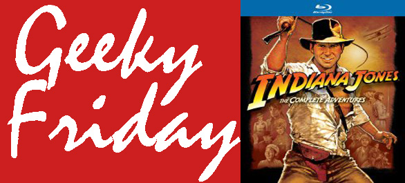 GFIndyBluray1 Geeky Friday: Paramount Announces Complete Indiana Jones Collection Blu ray Release Date