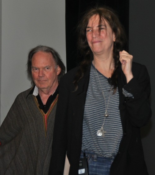 NY1 Heart of Gold: Neil Young and Patti Smith in Great Form at BEA | BookExpo America Day 2