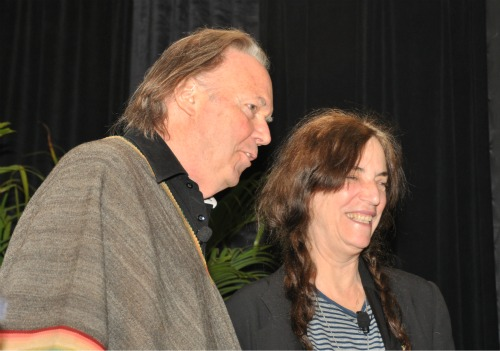 NY2 Heart of Gold: Neil Young and Patti Smith in Great Form at BEA | BookExpo America Day 2