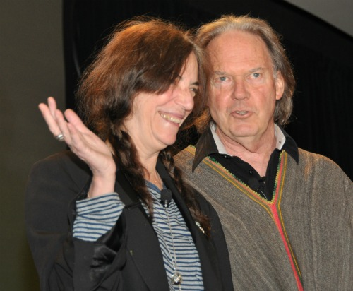 NY4 Heart of Gold: Neil Young and Patti Smith in Great Form at BEA | BookExpo America Day 2