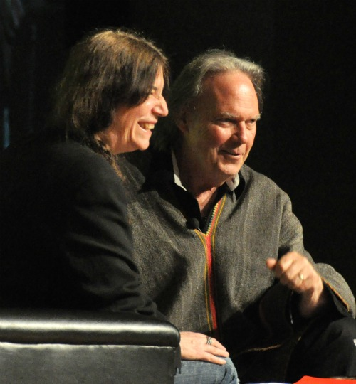 NY5 Heart of Gold: Neil Young and Patti Smith in Great Form at BEA | BookExpo America Day 2