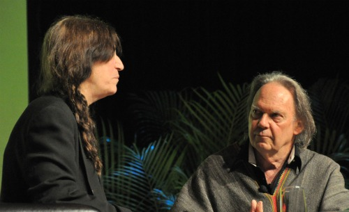 NY7 Heart of Gold: Neil Young and Patti Smith in Great Form at BEA | BookExpo America Day 2