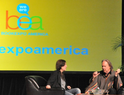 NY8 Heart of Gold: Neil Young and Patti Smith in Great Form at BEA | BookExpo America Day 2