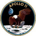 "Apollo11insignia1251 Geeky Friday: Its Batman Time; Houghtons Hobbit Tie In Titles; ""One Small Step for Man, Oops, Wait, Do over!"""