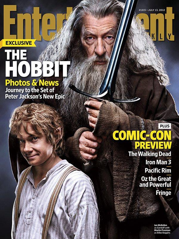 HobbitEW Geeky Friday: Book Stuff at San Diego Comic Con, Ten New Pix from The Hobbit, Spider Man Spinning Box Office Gold