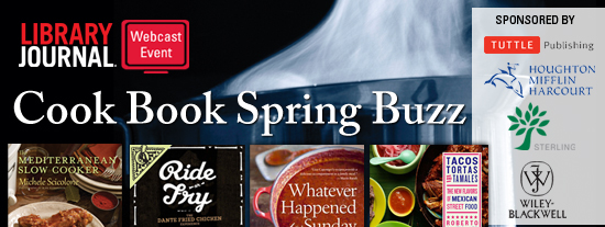 Cook Book Spring Buzz