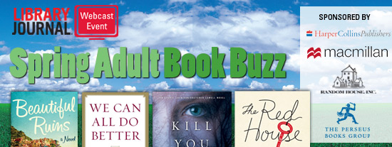 Spring Adult Book Buzz