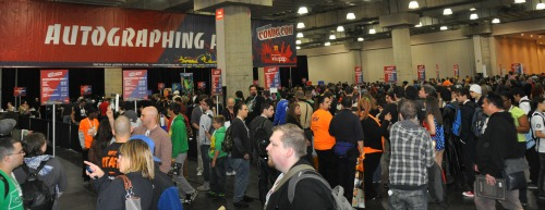 Crowd500 Nerd Watching: New York Comic Con 2012 Wrap Up | Geeky Friday