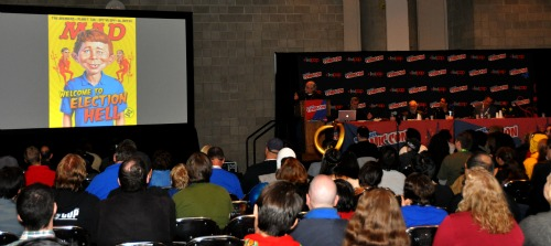 MAD500 Nerd Watching: New York Comic Con 2012 Wrap Up | Geeky Friday