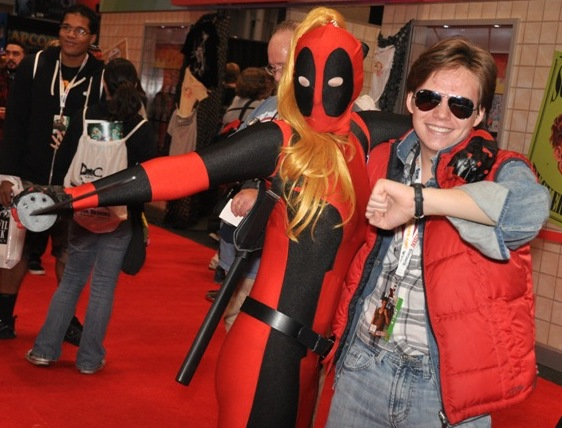 MartyDeadpool Geeky Friday: New York Comic Con Sets Record Attendance, DC Releasing Superman: Earth One, Vol. 2 in November, J.K. Rowlings Naughty Bits