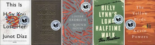 finalist jackets fiction 500x145 National Book Award Finalists Announced Today