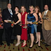Carol Award winners at the ACFW Awards Gala, September 2012