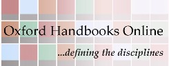 Oxford handbooks online New and Upcoming Reference Databases