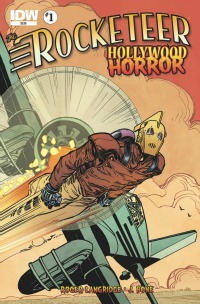 "RocketterHorror200 Geeky Friday: IDW Launching New Rocketeer/G.I. Joe Series in 2013, Tarantino's ""Dogs""/""Pulp"" Back in Theaters, Jackson's ""Thriller"" Turns 30!"