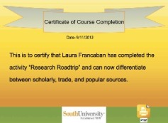 South Certificate The road to mastery: It used to be easy to introduce  the library's riches. Here's how to get back to the good old days