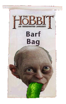 GollumPukebag Hobbit 3D Causes Motion Sickness, Alan Moore's New Nemo, Star Trek: Into Darkness Trailer and Hemingways Stolen Suitcase | Geeky Friday