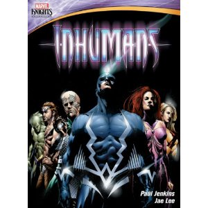 Inhumans Marvel Knights Animation/Shout Factory Releasing Inhumans on DVD