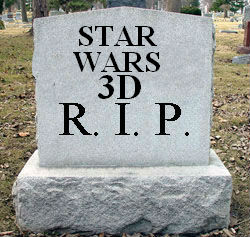 StarWars3dRIP21 Star Trek Superbowl Spot, Animated Marvel Inhumans DVD, Holy Batface!, Star Wars 3D RIP | Geeky Friday