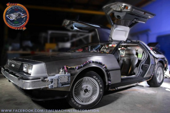 bttf delorean550 Tarzan Complete Strips, TMNT Micro Series, Weasley Turns Superhero, BTTF Delorean Restoration, Audies Nominations | Geeky Friday