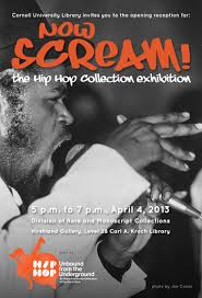 now scream Music Matters: Cornell's Hip Hop Collection