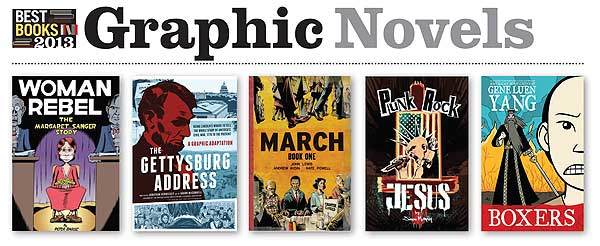 2013bbWebGNb Best Books 2013: Graphic Novels