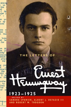 Letters of Ernest Hemingway Volume 2 book jacket1218 Adventures in Editorial Scholarship: An Interview with Sandra Spanier