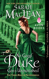 no good duke Sarah MacLean on No Good Duke Goes Unpunished, a Top LibraryReads Pick