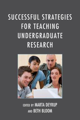 successful1 Successful Strategies for Teaching Undergraduate Research | Professional Media