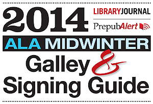 2014MWggHead3001 2014 ALA Midwinter Galley & Signing Guide: Get It Now!