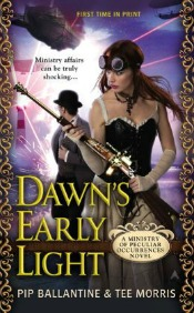 dawnsearlylight041714 Butchers New Dresden Novel, Time Travel from Gregory, Harris Launches Texas Trilogy, Paull's Debut of the Month | SF/Fantasy Reviews