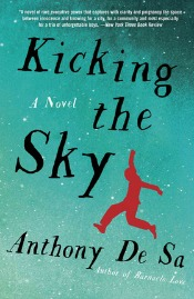 kickingthesky041414 Ambitious & Legendary Debuts (Collins, Rahman, Woodroof), Immigration Lit by De Sa, Successful Returns (Lazar, Trout), + Thrillers, & More | Fiction Reviews