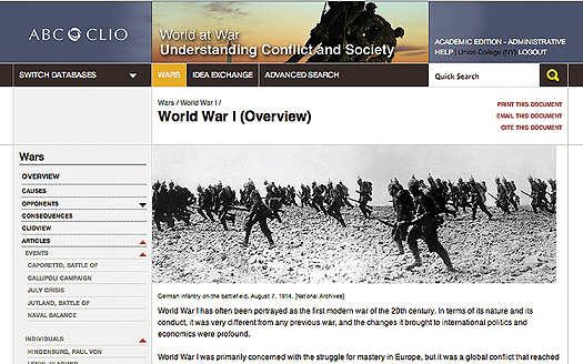 ljx140402websocWWIe1 World at War; Women, War and Society; InfoBase eBooks; eShort Takes; & More | ereviews, World War I