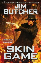 skingame041714 Butchers New Dresden Novel, Time Travel from Gregory, Harris Launches Texas Trilogy, Paull's Debut of the Month | SF/Fantasy Reviews