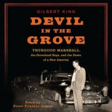 devil in the grove 2014 Audie Award winners