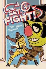 downsetfight0603141 Jules Feiffer, Brandon Graham, Jane Irwin, Mimi Pond, Charles Schulz, & More | Graphic Novels Reviews