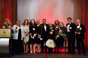 The 2017 Edgar Award winners and honorees (photo courtesy of Aslan Chalom)