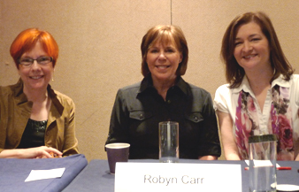 Romance authors at RWA Librarians Day